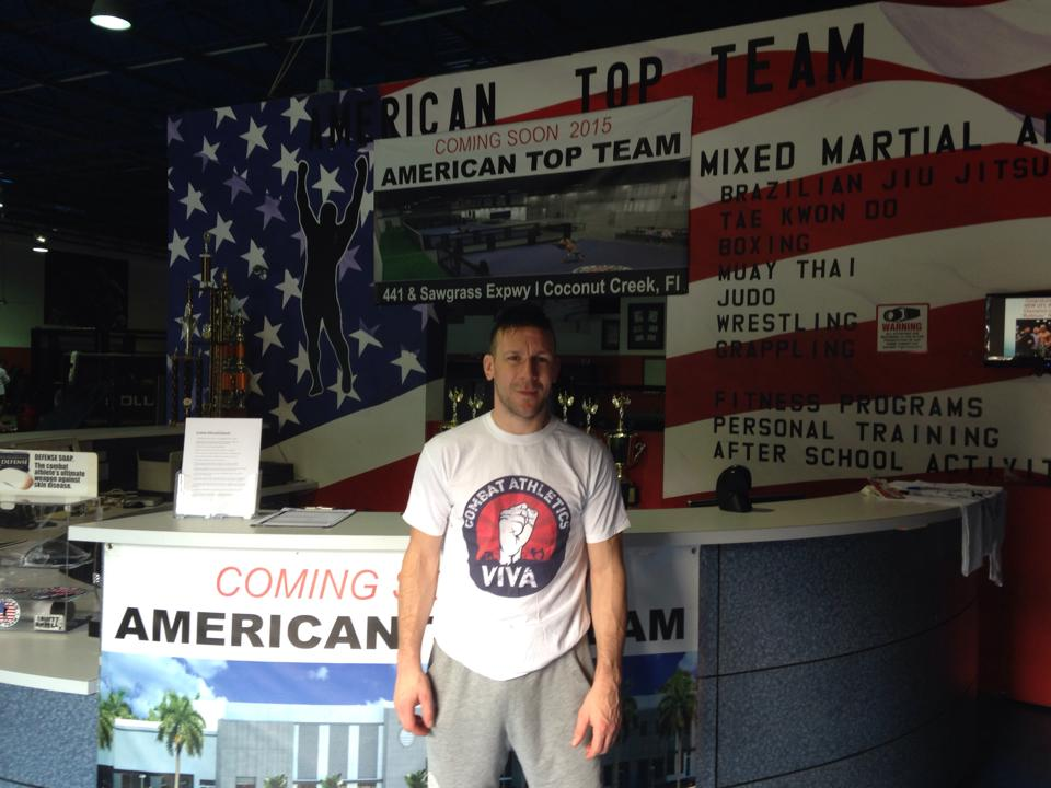 Jamie Lester at American Top Team