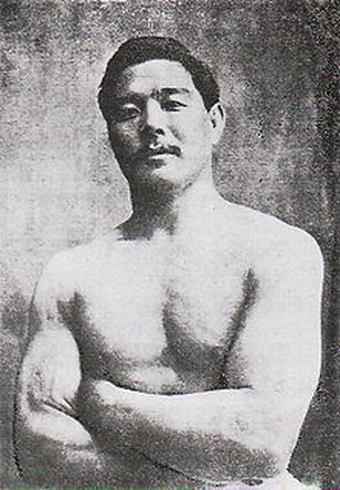 Mitsuyo Maeda who taught japanese jiu jitsu to the Gracies